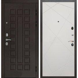 Входная дверь Сенатор с замком CISA 57.966 ФЛ-291 Софт шампань