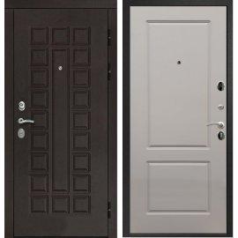 Входная дверь Сенатор с итальянским замком CISA 57.966 ФЛ-117 Софт Грей