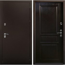 Входная металлическая дверь Снедо Терморазрыв Урал - 3К цвет - Венге