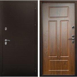Входная металлическая дверь Терморазрыв Урал - 3К цвет - Орех Грецкий
