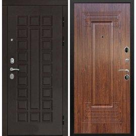 Входная дверь Сенатор с итальянским замком CISA 57.966 ФЛ-4 Берёза морёная