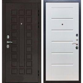 Входная дверь Сенатор с замком CISA 57.966 Сити Белый ясень