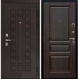 Входная дверь Сенатор с замком CISA 57.966 ФЛ-243 Венге