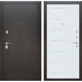 Входная металлическая дверь Бордер ФЛ-14 Дуб кантри белый