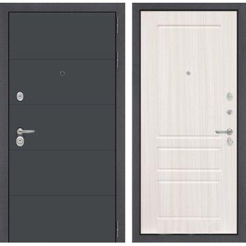 Входная дверь Легион ФЛ-3 Сандал белый