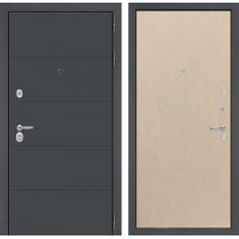 Входная стальная дверь Сенатор АРТ цвет 05 Венге светлый