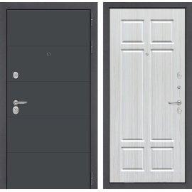 Входная стальная дверь Сенатор АРТ цвет 08 Кристалл вуд