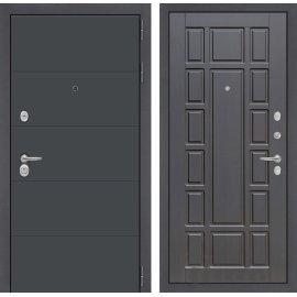 Входная стальная дверь Сенатор АРТ цвет 12 Венге