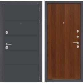 Входная стальная дверь Сенатор ART цвет 05 Итальянский орех