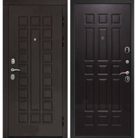 Входная дверь Сенатор с замком CISA 57.966 ФЛ-33 Венге