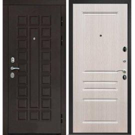 Входная дверь Сенатор с замком CISA 57.966 ФЛ-243 Беленый дуб