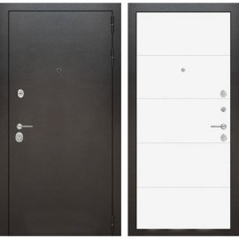 Входная металлическая дверь Бордер ФЛ-13 Белый софт