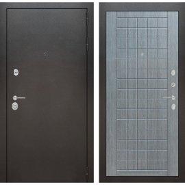 Входная металлическая дверь Бордер ФЛ-9 Лен сильвер