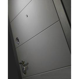 Входная стальная дверь Сенатор АРТ цвет 14 Эко венге