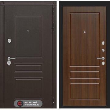 Входная дверь Италия ФЛ-3 Орех бренди