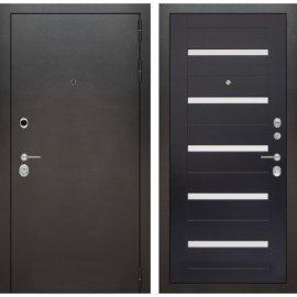 Входная металлическая дверь Бордер ФЛ-1 Венге стекло белое