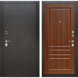 Входная металлическая дверь Бордер ФЛ-3 Орех Бренди