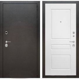 Входная металлическая дверь Бордер ФЛ-3 Белый софт