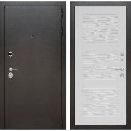 Входная металлическая дверь Бордер ФЛ-6 Белое дерево