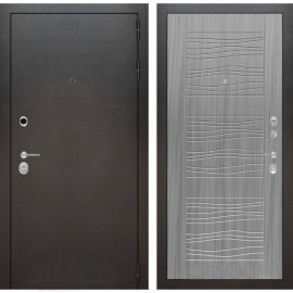 Входная металлическая дверь Бордер ФЛ-6 Сандал серый