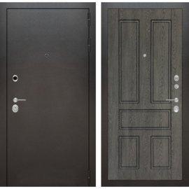 Входная металлическая дверь Бордер ФЛ-10 Дуб графит