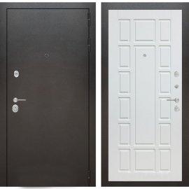 Входная металлическая дверь Бордер ФЛ-12 Белое дерево