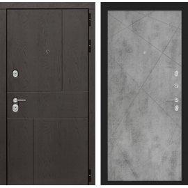Входная металлическая дверь Сенатор Ультиматум ФЛ-24 Бетон светлый