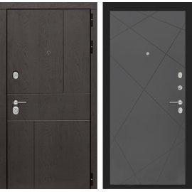 Входная металлическая дверь Сенатор Ультиматум ФЛ-24 Графит софт