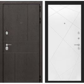 Входная металлическая дверь Сенатор Ультиматум ФЛ-24 Белый софт
