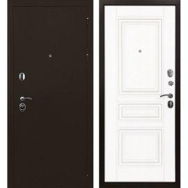 Входная металлическая дверь Сенатор Премиум-7R цвет Белый матовый