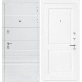 Входная металлическая дверь Сенатор Классика ФЛ-11 Белый софт