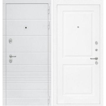 Входная дверь Классика ФЛ-11 Белый софт