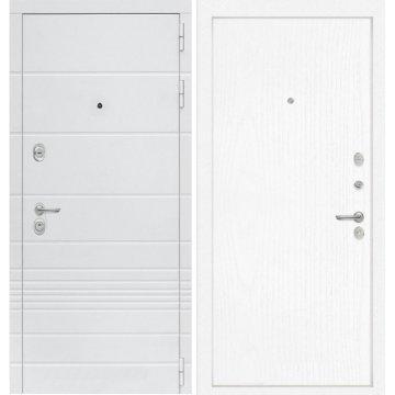 Входная дверь Классика ФЛ-7 Белое дерево