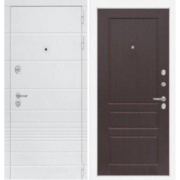 Входная дверь Классика ФЛ-3 Орех премиум