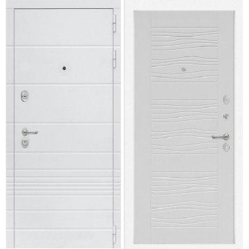 Входная дверь Классика ФЛ-6 Белое дерево