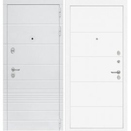 Входная металлическая дверь Сенатор Классика ФЛ-13 Белый софт