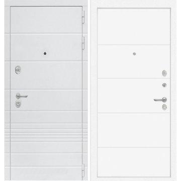 Входная дверь Классика ФЛ-13 Белый софт