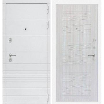 Входная дверь Классика ФЛ-6 Сандал белый