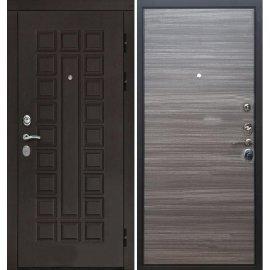Входная дверь Сенатор с итальянским замком CISA 57.966 Сандал серый