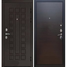 Входная дверь Сенатор с итальянским замком CISA 57.966 Венге