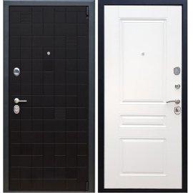 Сенатор Тетрис 3к ФЛ-243 цвет Белый силк сноу входная стальная металлическая дверь