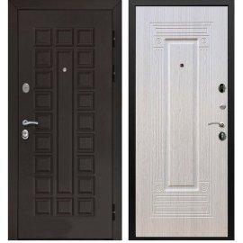 Входная металлическая стальная дверь Йошкар-Ола Senator ФЛ-4 цвет Беленый дуб