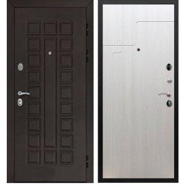 Входная металлическая стальная дверь Йошкар-Ола Senator ФЛ-246 цвет Лиственница беж