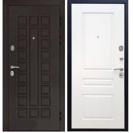 Входная металлическая дверь Йошкар-Ола Senator ФЛ-243 цвет Белый силк сноу