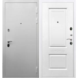 Входная металлическая дверь Сенатор Триумф 3к Смальта 04 Белый силк сноу