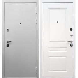 Входная металлическая дверь Сенатор Триумф 3к ФЛ-243 Белый силк сноу