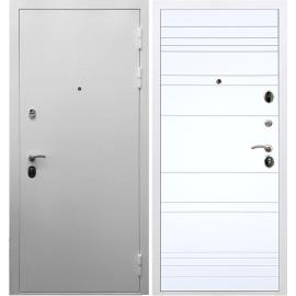 Входная металлическая дверь Сенатор Триумф 3к ФЛ-14 Белый силк сноу