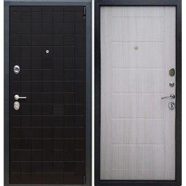 Сенатор Тетрис 3к Сити цвет Сандал белый входная стальная металлическая дверь