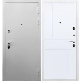 Входная металлическая дверь Сенатор Триумф 3к ФЛ-290 Белый силк сноу