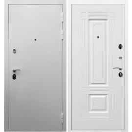Входная металлическая дверь Сенатор Триумф 3к ФЛ-2 Белый силк сноу